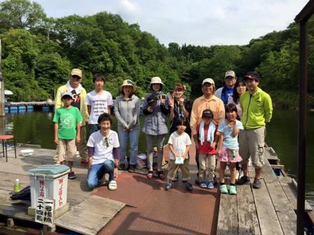 2015ヘラブナ教室IN天神釣り池